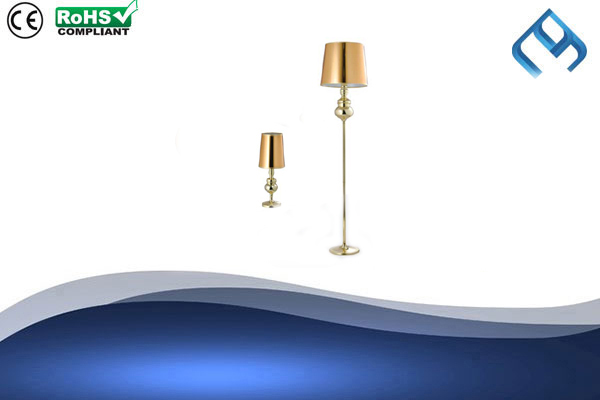 Metallic-Gold-Floor-&-Table-Lamp